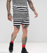 Reclaimed Vintage Inspired Shorts In Stripe