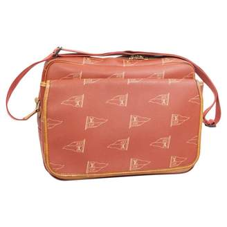 Louis Vuitton Vintage Orange Cloth Handbag