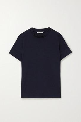 KING & TUCKFIELD Merino Wool T-shirt - Navy