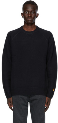 Carhartt Work In Progress Navy Chase Sweater