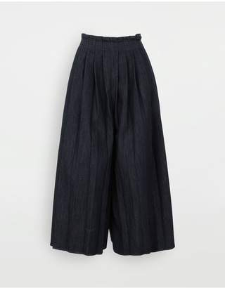 MM6 MAISON MARGIELA Pleated Denim Trousers