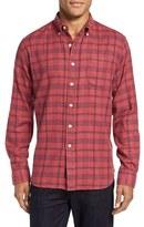 Grayers Men's Caledon Trim Fit Plaid Flannel Sport Shirt