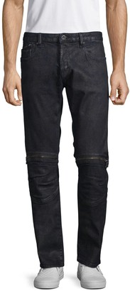 Cult of Individuality Greaser Moto Stretch Jeans