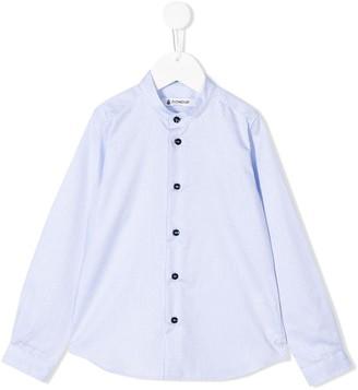 Dondup Kids mandarin collar shirt