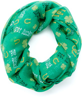 David & Young Green 'Get Lucky' Scarf