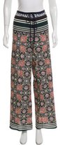 Clover Canyon Printed Wide-Leg Pants
