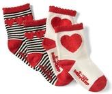 Gap Scallop heart socks (2-pack)