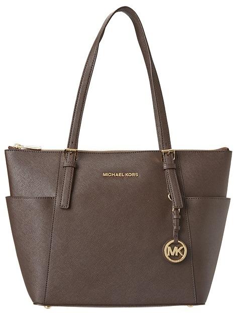 MICHAEL Michael Kors Jet Set Item (Coffee) - Bags and Luggage