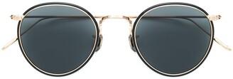 Eyevan 7285 Round Polarized Sunglasses