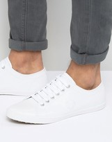 Fred Perry Kingston Leather Plimsolls