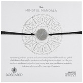 Dogeared Mindful Mandala Center Square Silk Bracelet