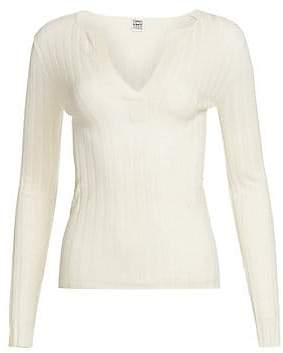 Totême Women's Avresa Wool Silk Cashmere Henley