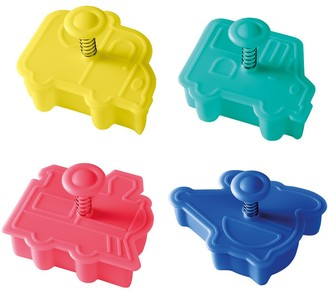 Soffritto Professional Bake 4-Piece Transport Cookie Stamp Set