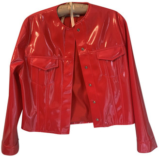 Marques Almeida Red Synthetic Jackets