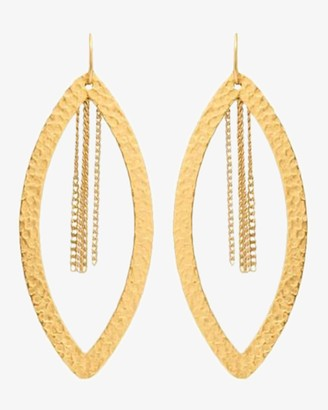Stephanie Kantis Paris Eye Chain Earrings