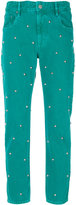 Etoile Isabel Marant studded jeans - women - Cotton/zamac - 34