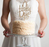 Funky Laser Oh Happy Day Celebrations Cake Topper