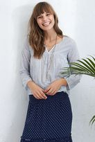 aerie Striped Peasant Top