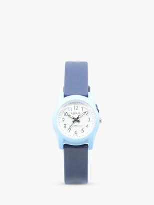 Lorus Children's Silicone Strap Watch