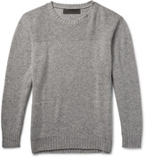 The Elder Statesman - Speckle Sea Slub Cashmere Sweater