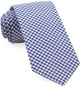 The Tie Bar Royal Blue Petite Gingham Tie