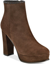 Marc Fisher Natasia Platform Block-Heel Ankle Booties