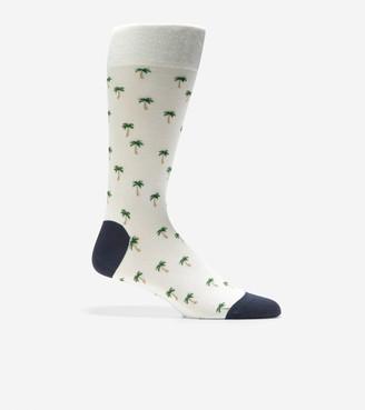 Cole Haan Palm Tree Crew Socks