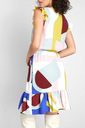 ModCloth As You Love It Ruffle Dress