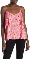 Rachel Roy Austen Neon Floral Tiered Camisole