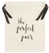 Kate Spade 'The Perfect Pair' Shoe Bag - White