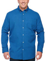 The Foundry Supply Co. The Foundry Big & Tall Supply Co. Big and Tall Mens Long Sleeve Button-Front Shirt