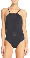 Red Carter Women's Strappy One-Piece Swimsuit