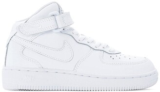 Nike Kids Air Force 1 Mid (PS) Leather High Top Trainers