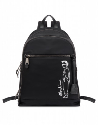 Moschino Nylon Backpack Character