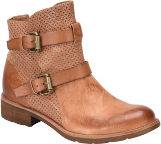 Sofft Leather Ankle Boots - Baywood