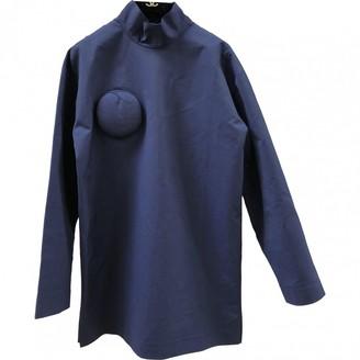 Jacquemus La Grande Motte Navy Wool Dresses