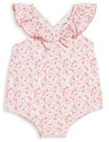 Lili Gaufrette Baby's Ludovie Ruffle One-Piece Floral Swimsuit