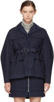 Isabel Marant Navy Denim Pleyel Jacket