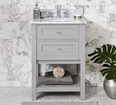 Pottery Barn Classic Single Sink Mini Vanity - White