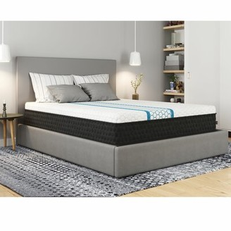 "11"" Firm Hybrid Mattress White Noise Mattress Size: Full"