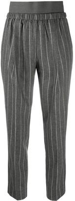 Fabiana Filippi Pinstripe Elasticated Trousers