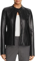 Theory Sculpted Wilmore Leather Jacket