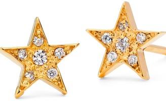 Harry Rocks Gold Star Stud Earrings