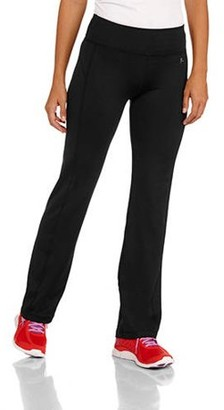 Danskin Women's Poly Straight Leg Pant