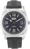 JCPenney WRIST ARMOR Wrist Armor C21 Mens US Navy Rubber Strap Chronograph Watch