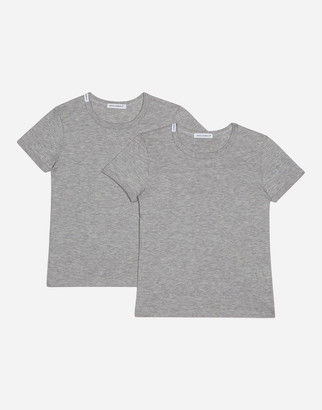 Dolce & Gabbana Short-Sleeved Jersey T-Shirt Two-Pack