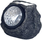 TRADEMARK HOME Pure Garden Set of 4 Solar Outdoor LED Rock Landscaping Lights