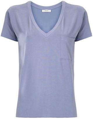 Egrey chest pocket T-shirt