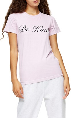 Topshop Be Kind T-Shirt