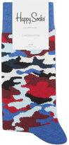 Happy Socks Camouflage Cotton-blend Socks
